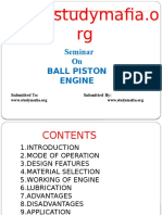 Ball Piston Engine