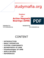 Active Magnetic Bearings