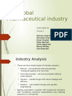 The Global Pharmaceutical Industry