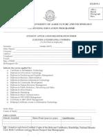 Cep Application Form Undergraduate