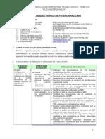 Silabus Electrónica de Potencia Aplicada ..