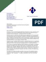 Performance Benchmarking of Australian Business Regulation