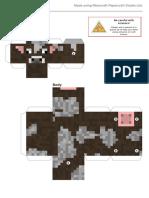 Minecraft Papercraft (Cow)