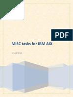 Misc Tasks