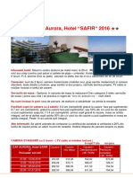 Cap Aurora-safir 2016- Standard