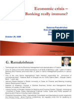 Economic Crisis - Is Islamic Banking Really Immune