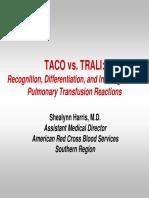 Taco vs Trali