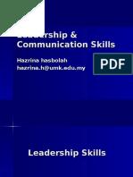 t1   leadership   communication skill