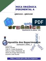 Apostila de Experimentos - Qu Mica Org Nica