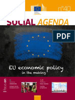 Social Agenda 40 - EU Economic Policy in the Makin