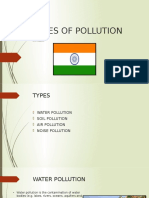 Types of Pollution ppt