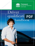Driver Qualification Handbook in English