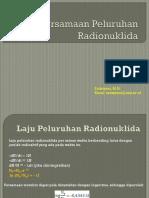 4b Persamaan Peluruhan Radionuklida(1)