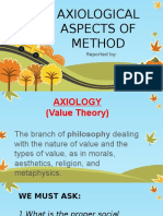 Axilogical Aspect of Method_report