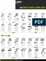 Chords Complete Ukulele Chords Chart