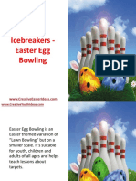 Youth Icebreakers - Easter Egg Bowling