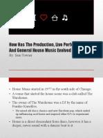 Sam Towner House Music Evolution Presentation