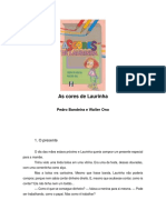 Pedro Bandeira as Cores de Laurinha