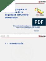 Metodología para la evaluación de la seguridad estructural de edificios