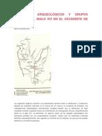 Complejos Arqueológicos y Grupos Étnicos Del Siglo Xvi en El Occidente de Antioquia