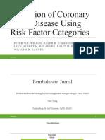 Prediction of Coronary Heart Disease Using Risk Factor