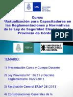 P01-Presentación Curso y Ley de Seguridad Eléctrica