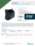 DRC-24V30W1A Technical Datasheet