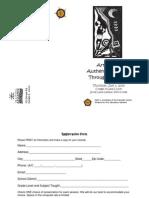 Arts Alive Brochure