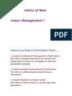 Characteristics of New npm