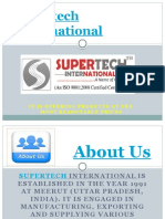 Best Cement Plant at Supertech International Company
