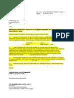 Draf Surat Lawatan Pj