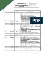 PSGC - 001 CONTROL DE DOCUMENTOS Y REGISTROS - Versión 13(1).pdf