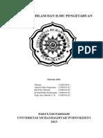 Paper Islam Dan Ilmu Pengetahuan