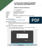 Instalación y configuración de un Servidor Web (IIS)