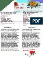 infograma receta