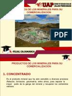 3.0 Productos de Los Minerales Para Su Comercializacion
