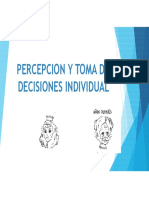 Percepcion y Toma de Decisiones