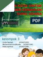 Ppt Hutan Kota Agroklimatologi
