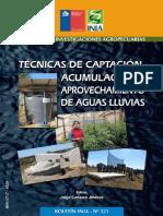 Boletín INIA Captación, Acumulación, y Aprovechamiento de Aguas Lluvias