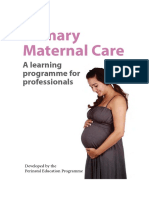 Primary Care Maternal