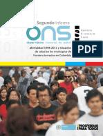 Segundo Informe - Mortalidad y Municipios Frontera