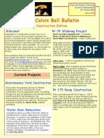 The Calvin Ball Bulletin