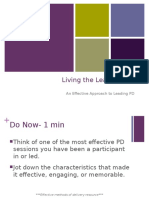 live the learnng pd