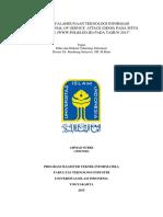 Analisa Hukum Kejahatan Internet DDOS Pada Situs Polri
