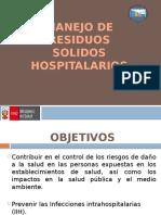 Manejo de Residuos Solidos Hospitalarios