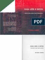 Para leer a Hegel. Filosofía para principiantes