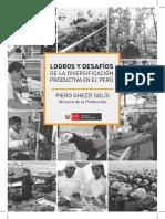 Logros y desafíos de la Diversificación Productiva en el Perú