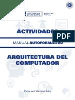A0028 MA Arquitectura Del Computador Amanual Activides 2014