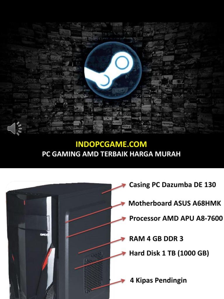 Pc Gaming Murah Amd Berkualitas 085643699889 Cashing  Terbaik