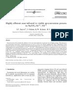 Articol Eficienta Emisiei Prin Upconversie NaYF4_Er-Yb